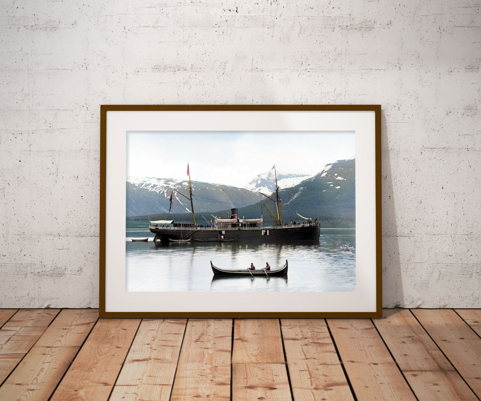 """Haakon Jarl"" (1879) i Tromsø"