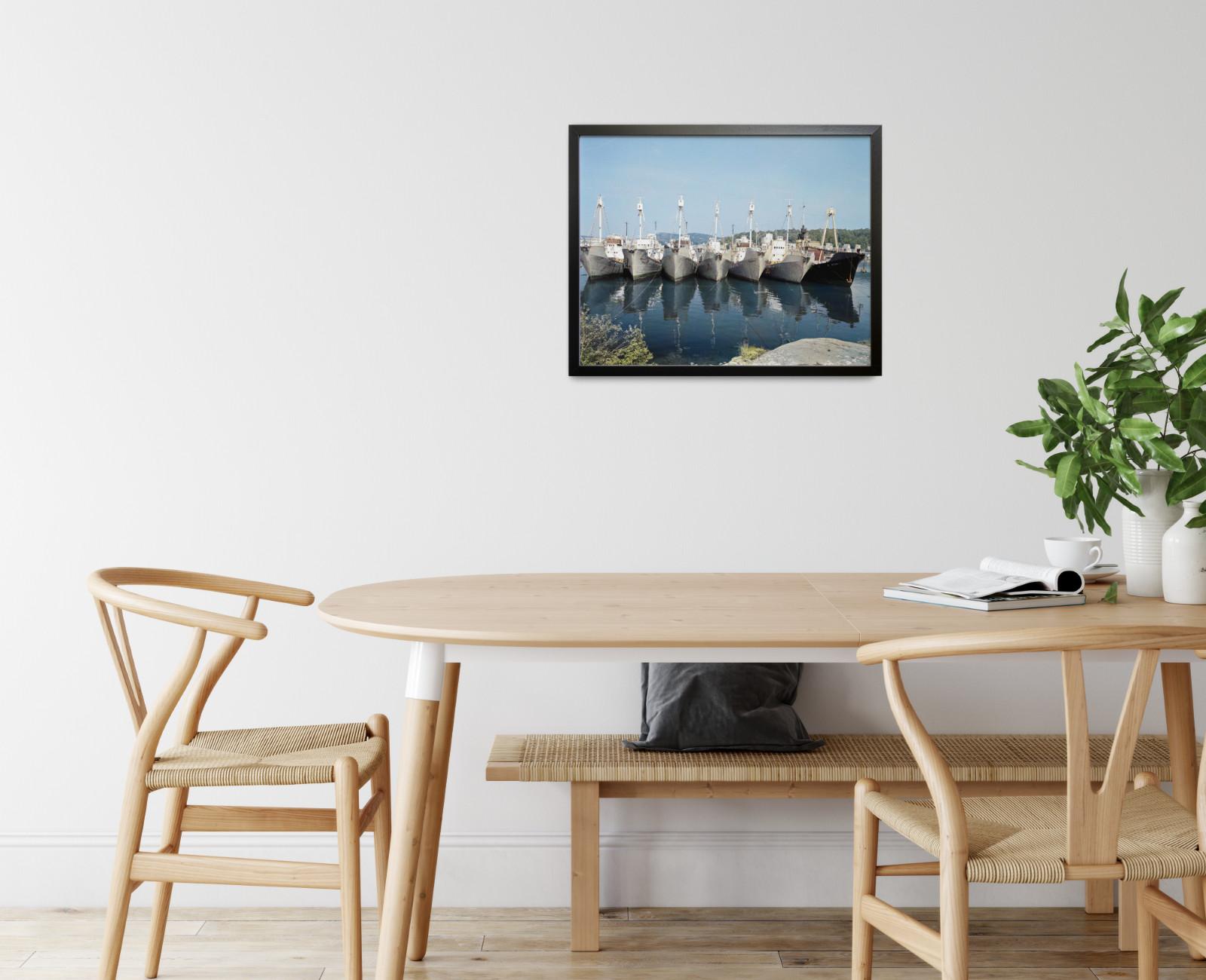 Hvalbåter lagt opp i Sandefjord