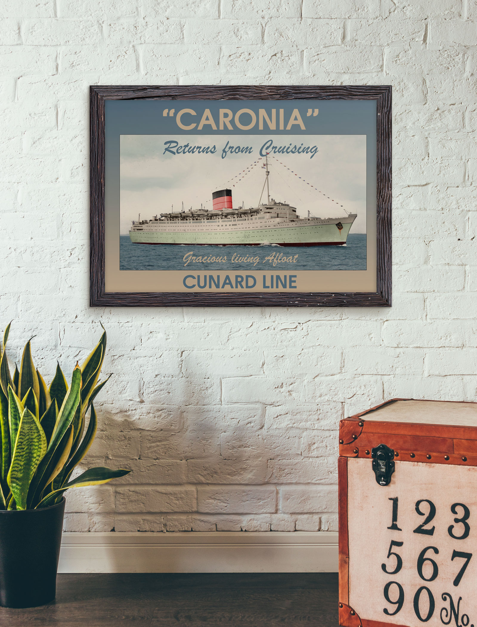 "RMS ""Caronia"" (Poster)"