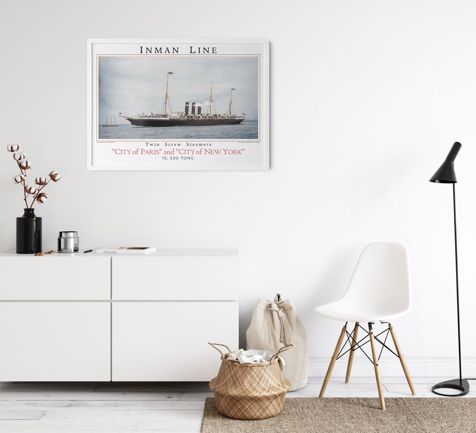 Inman Line (Poster)